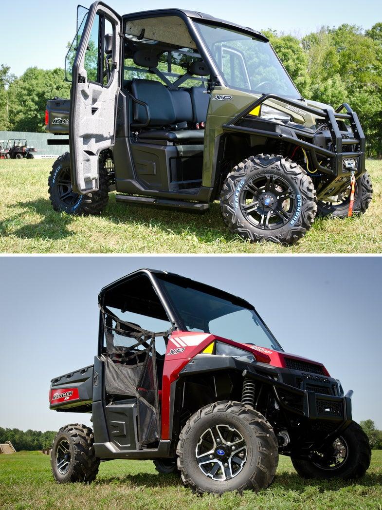 ATV First Look: The New Polaris Ranger XP 900 SXS
