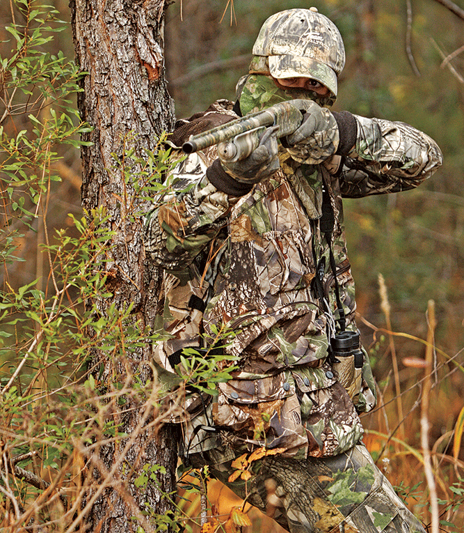 Turkey Hunting Tip: Stand Up and Shoot