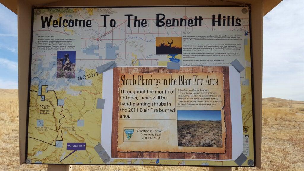 Bennett Hills region