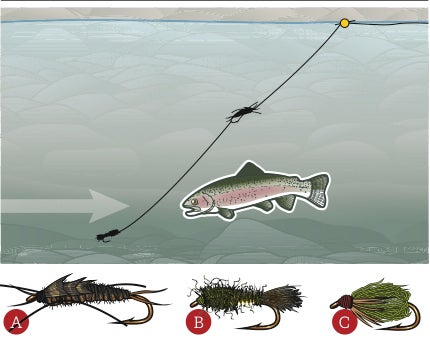 Catch Trout At High And Low Water