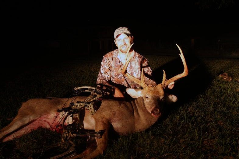 giant 6-point buck