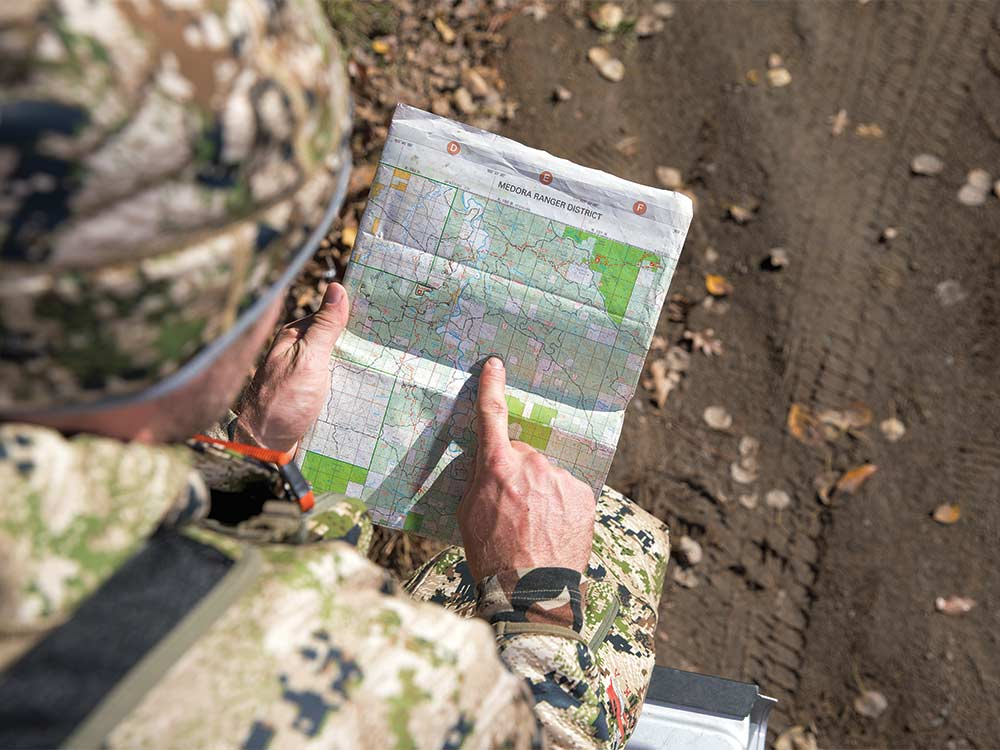 tony peterson mapping public hunting land