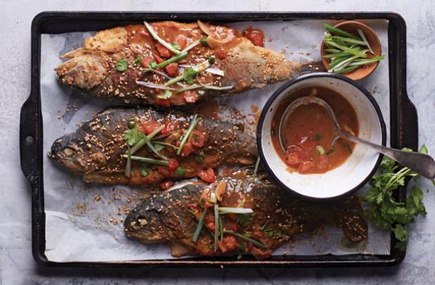 Recipe: Sesame-Crusted Pan-Fried Rainbow Trout