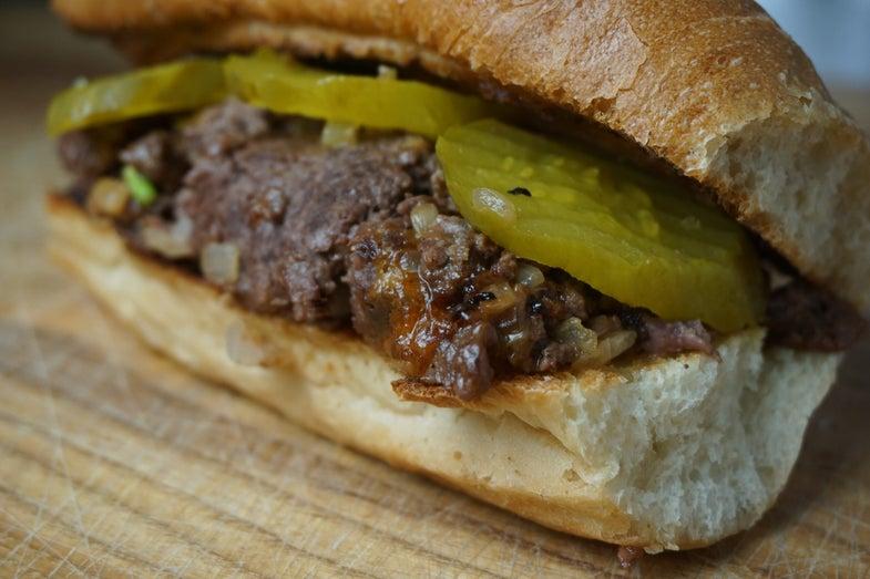 Recipe: Chopped Cheese Sandwich
