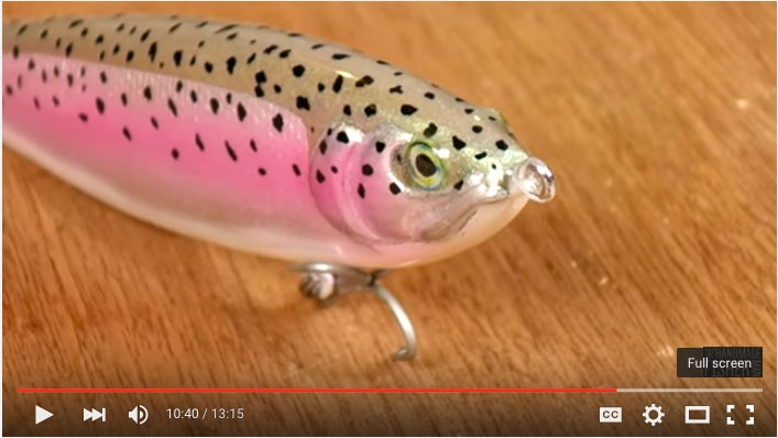 How To Make A Glide Bait Cooler Than Every One You Already Own