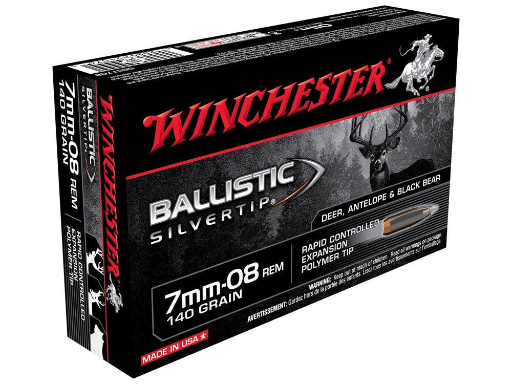 winchester 7-08 remington ballistic hunting rifle ammunition