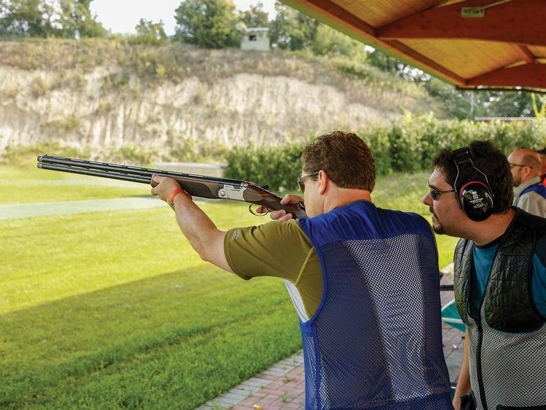 new shooter at range