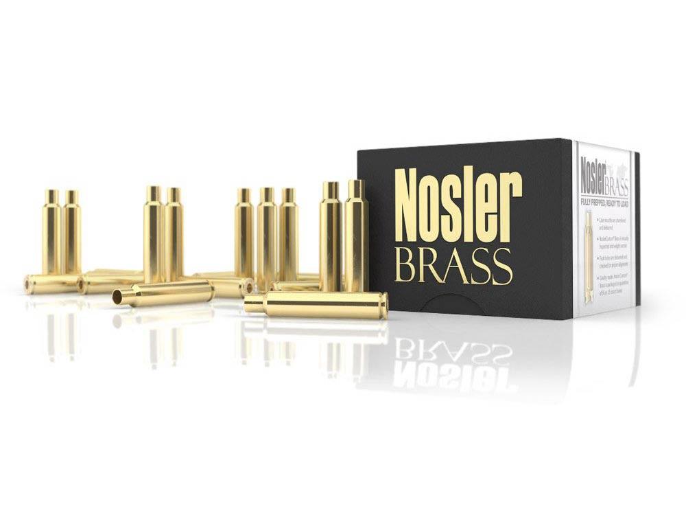 Nosler brass ammo