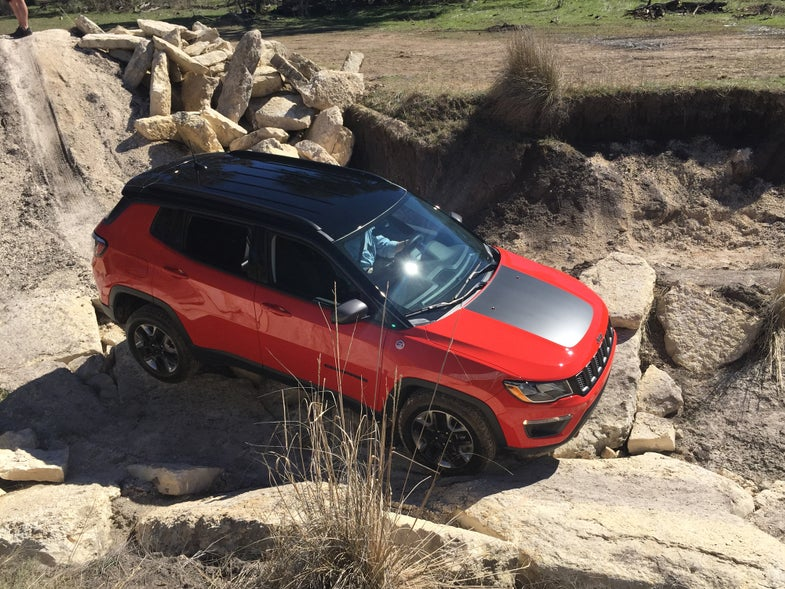 First Look: 2017 Jeep Compass Trailhawk