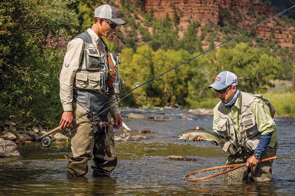 trout fishing colorado eagle river