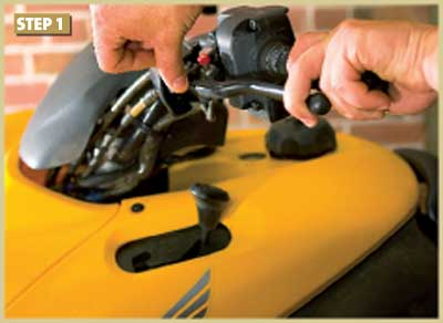 How to Replace the Brakes on a Utility ATV