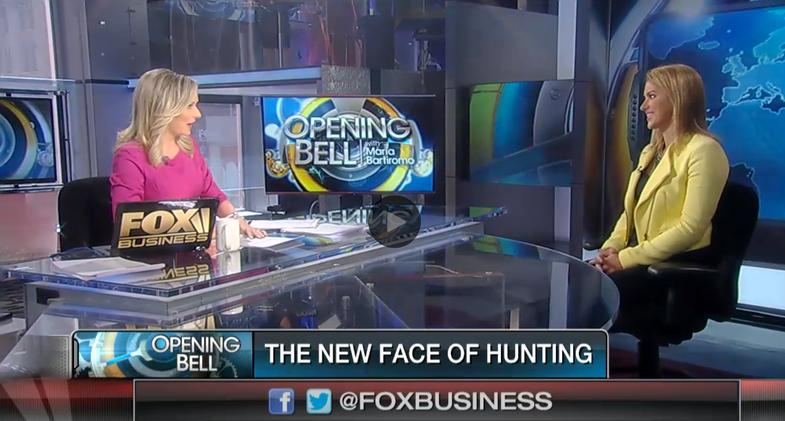 FOX Business Calls Eva Shockey 'New Face of Hunting'