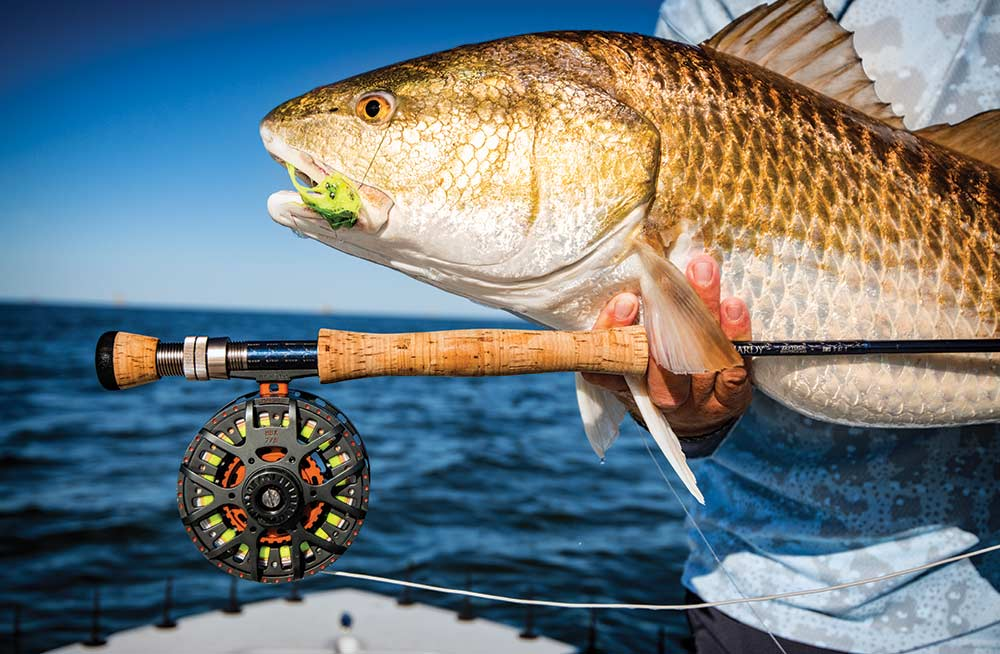 Redfishing in Louisiana