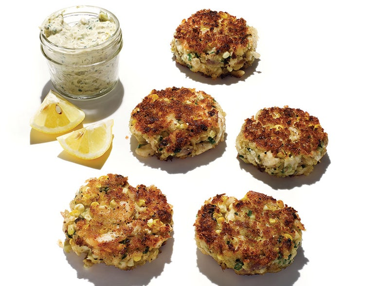 Bass and Ham Cakes