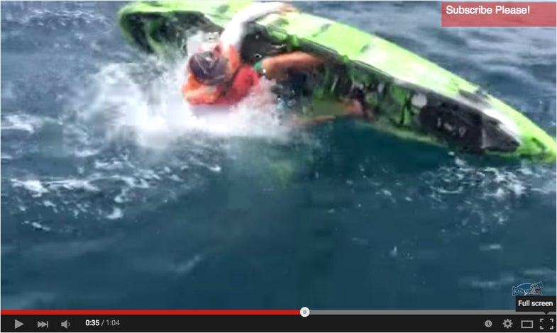 Florida Kayak Angler Nearly Becomes Shark's Lunch