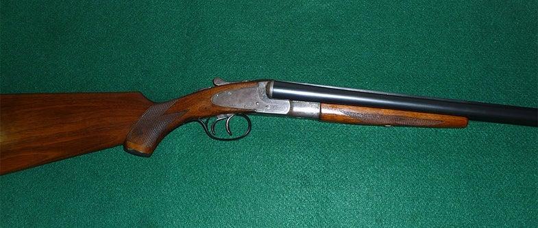 LC Smith field grade shotgun