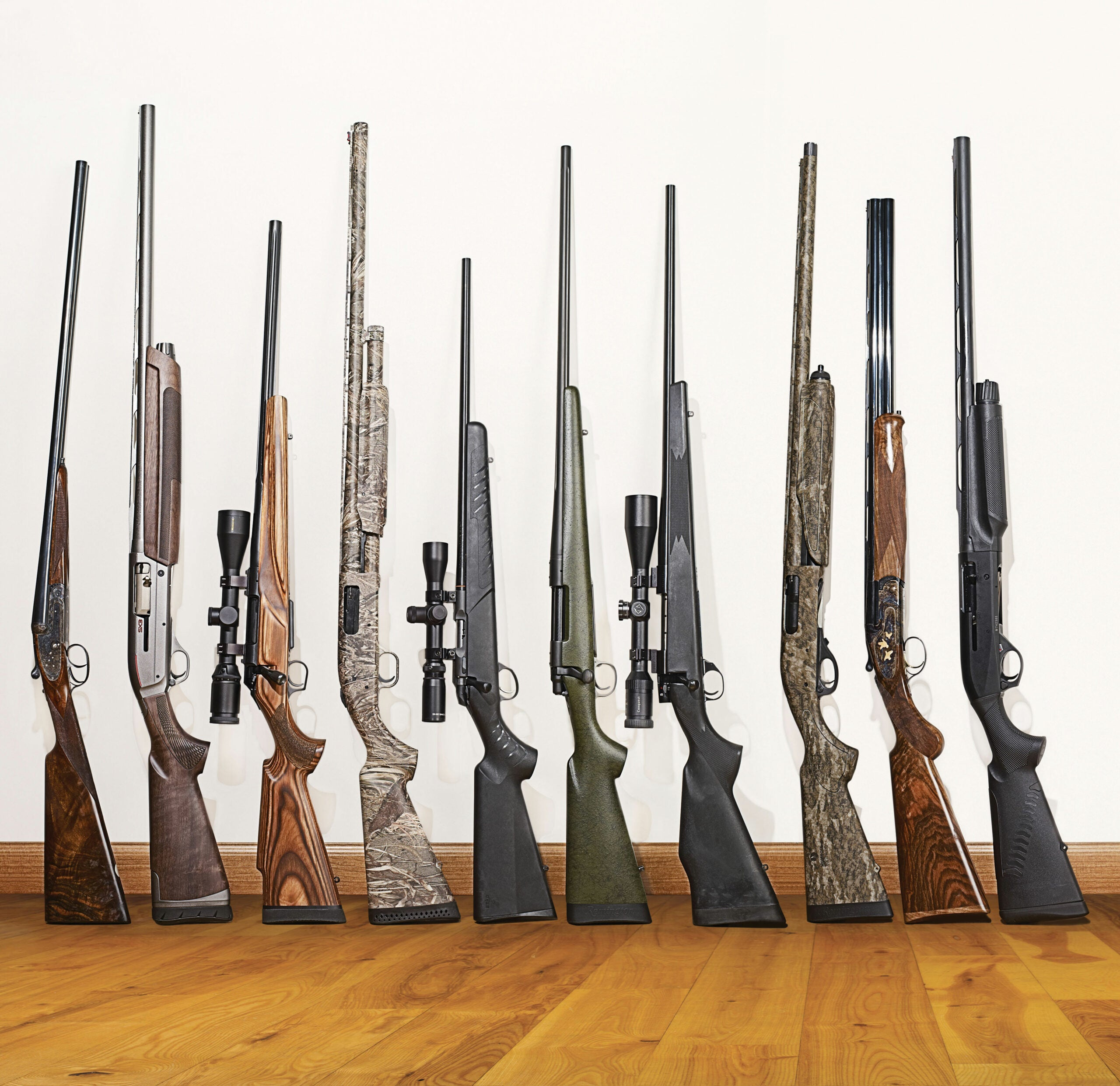 The Gun Nut Battery: 30 Essential Rifles and Shotguns Picked by David E. Petzal and Phil Bourjaily