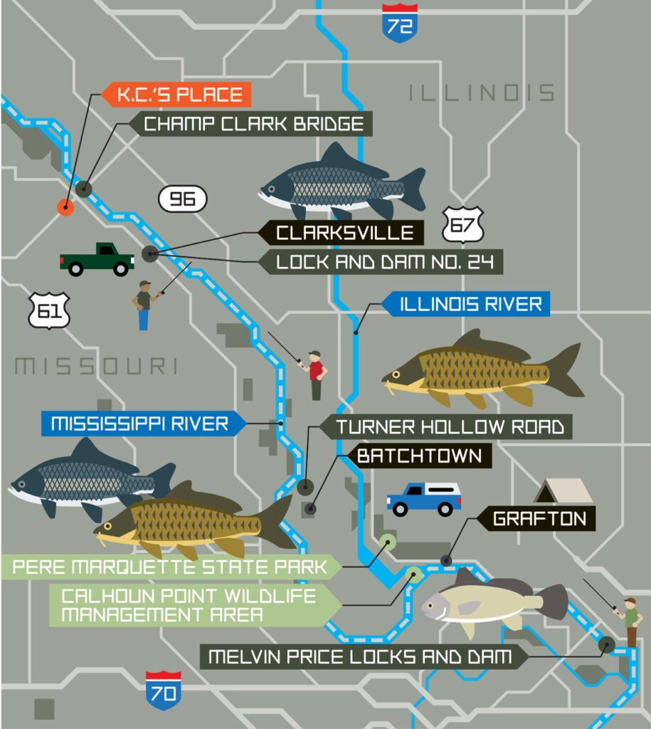 rough fish, trash fish, fishing road trip, mississippi fishing, mississippi rough fish, mississippi trash fish, freshwater drum, carp, bigmouth buffalo