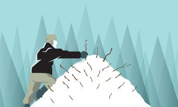 How to Build a Survival Snow Shelter