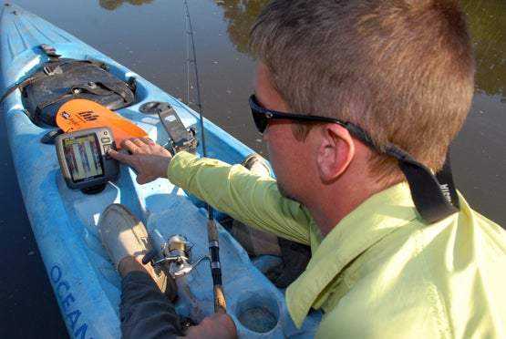 Kayak Fishing: How to Add a Fishfinder to Your 'Yak