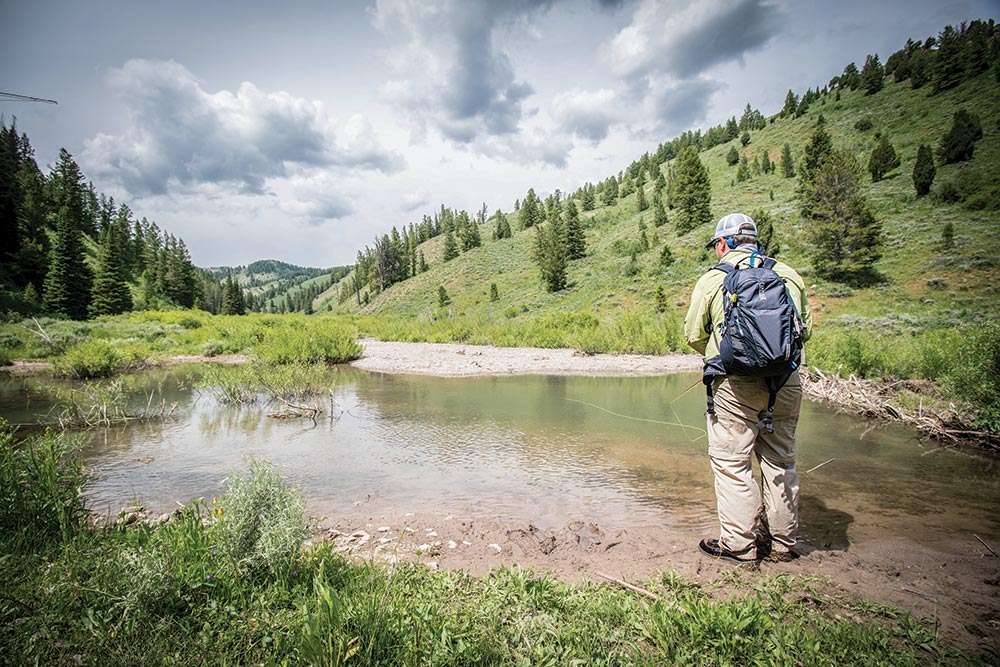 fishing caribou-targhee national forest
