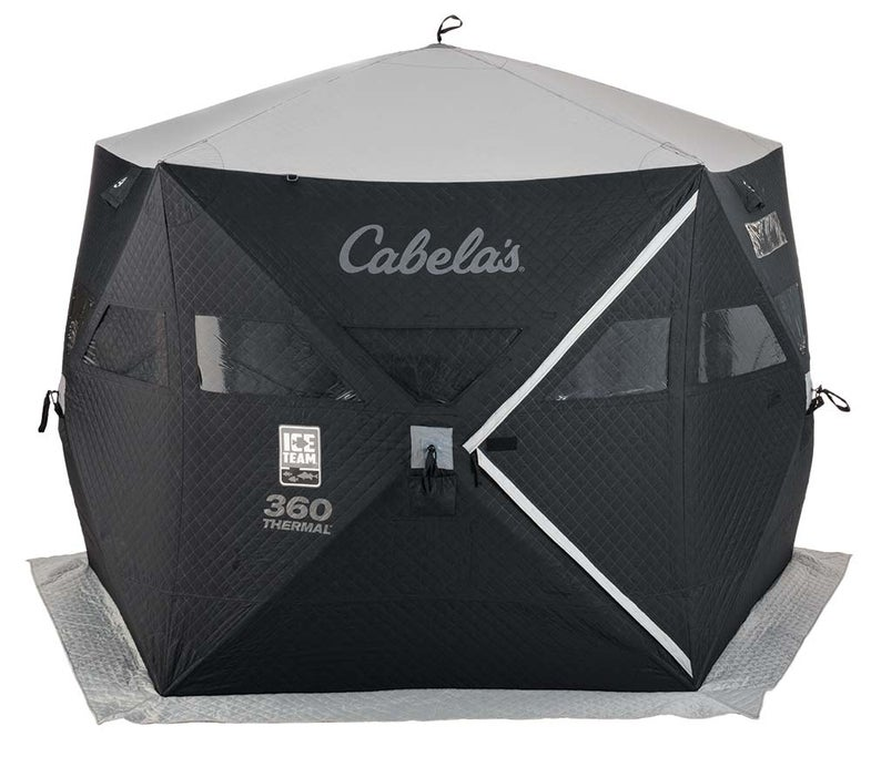 Cabela's Ice Team Five-Sided 360 Thermal Ice Shelter