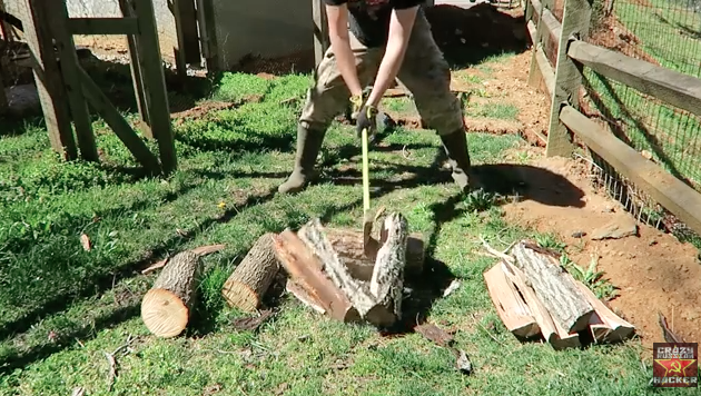 david draper, field and stream, the wild chef, campfire, campfire cooking, wild game, camp cooking, outdoor skills, ax skills, axe skills, how to split wood, crazy russian hacker, youtube, how to chop wood