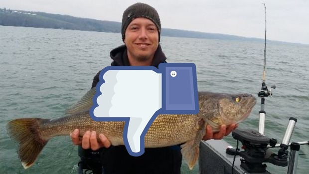 Posting An Out-Of-Season Fish Shot On Facebook? It Could Cost You $250