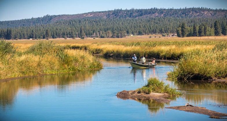 Oregon, Wood River Wetland, Fishing, Sun Protection