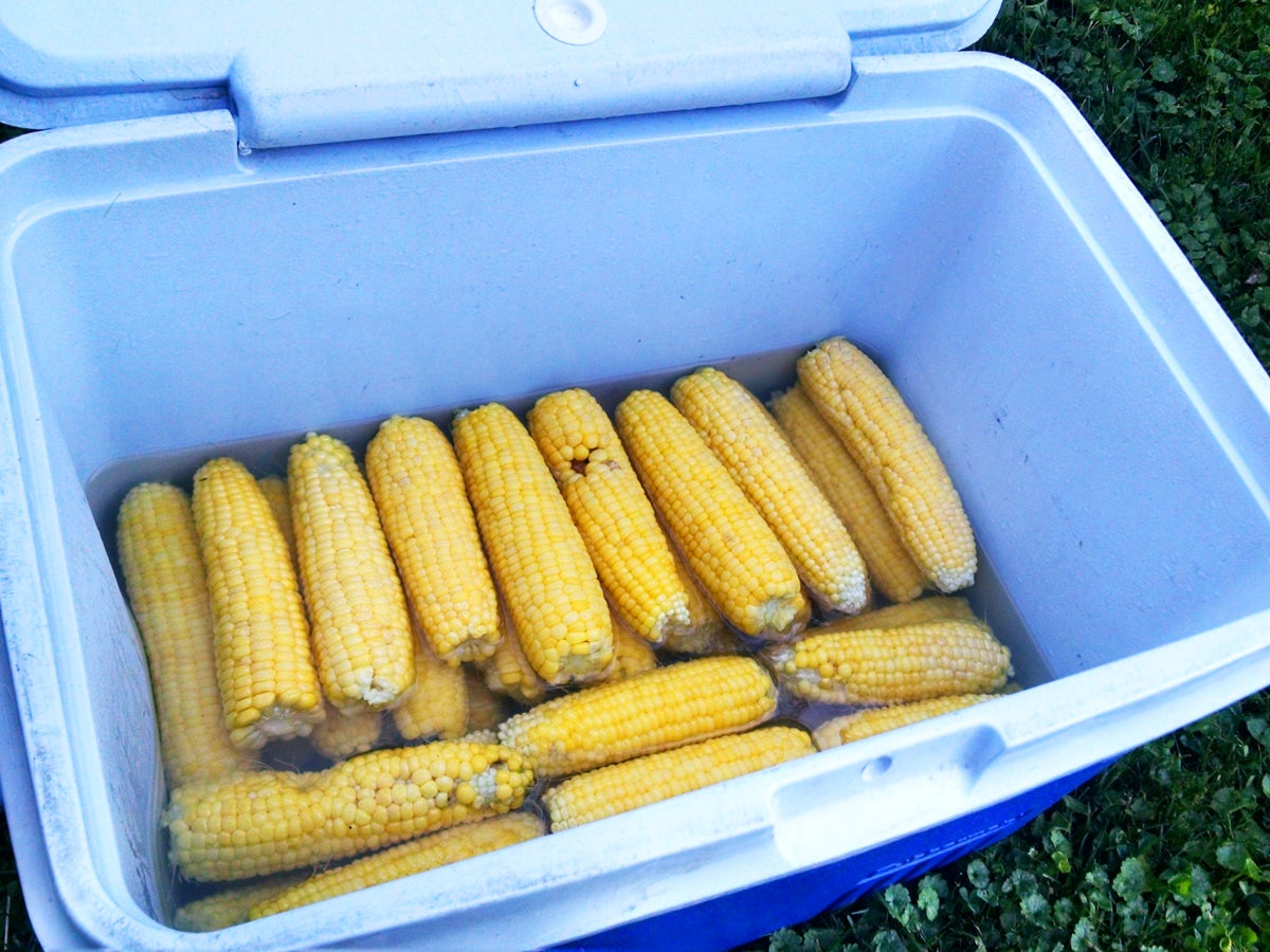 Camp Essential: How To Make Cooler Corn