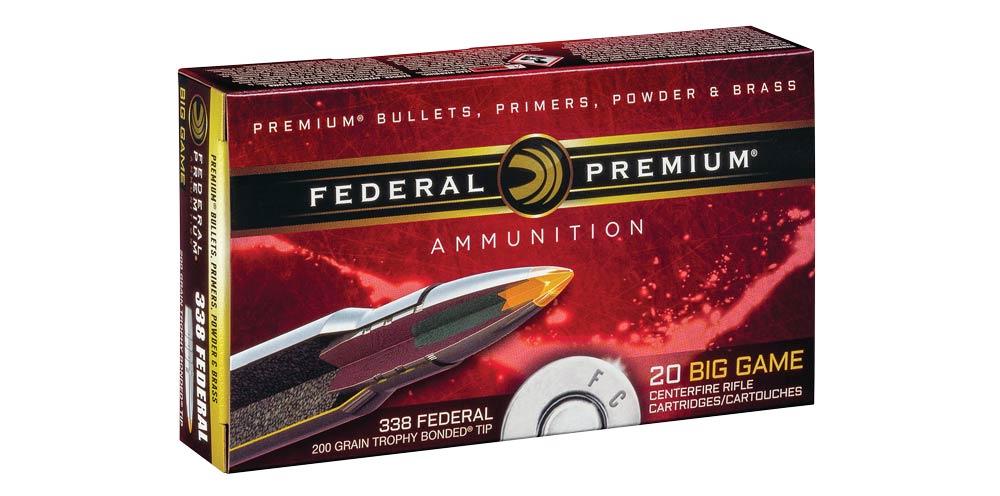 federal premium big game 338 federal ammo