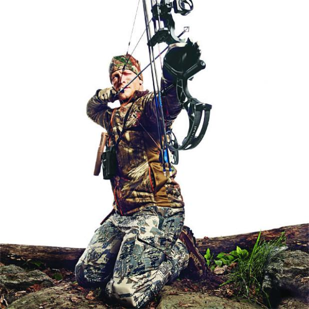 shoot bow from knees