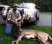 Archer Takes Potential Connecticut State Record Buck