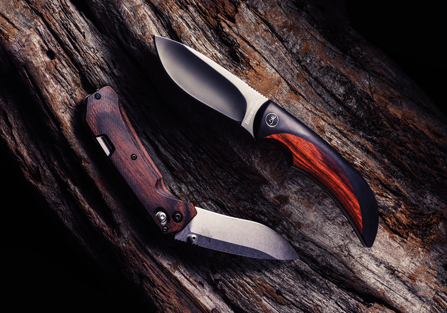 Browning's new fixed blade and Benchmade's latest folder