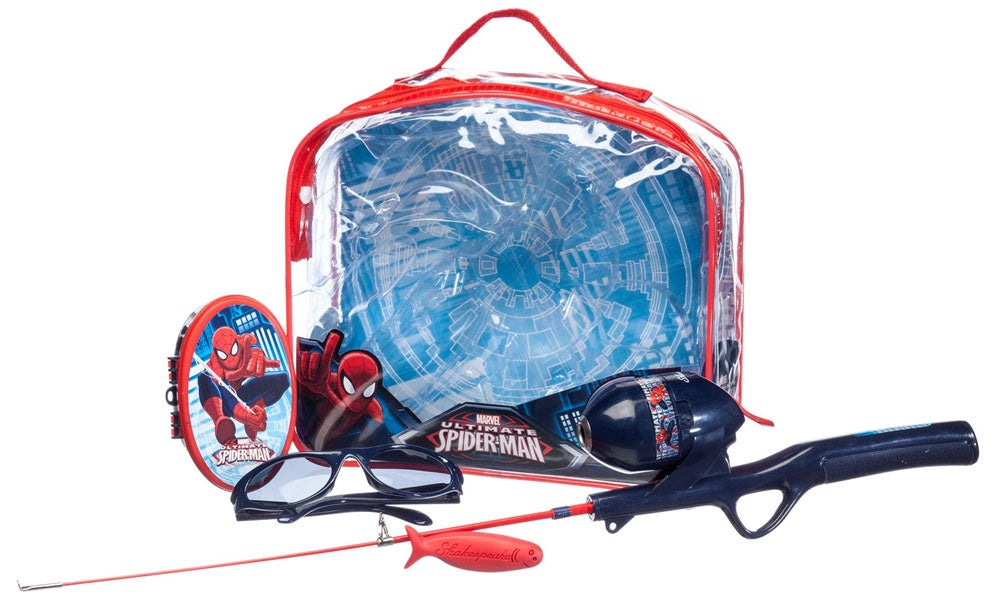 Shakespeare Spiderman Rod and Reel Backpack Fishing Kit