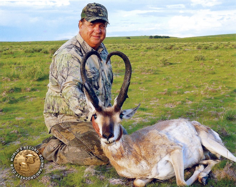 It's Official: New World-Record Antelope from New Mexico