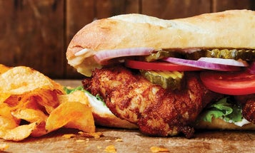 How to Make a Fried Catfish Po'Boy Sandwich