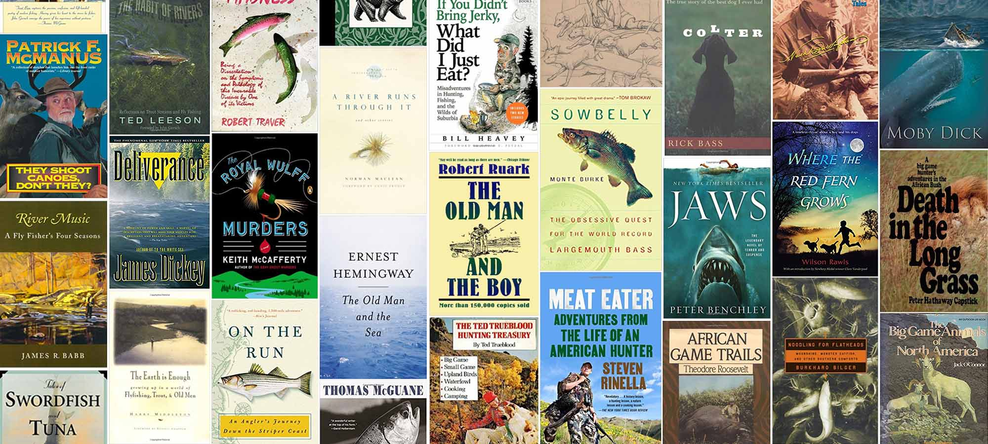 60 best outdoorsman books