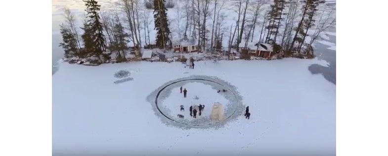Ice Carousel, Finland, Käpylehto