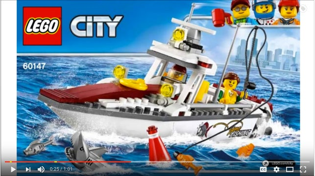 In Case You Were Wondering What's New in LEGO Fishing