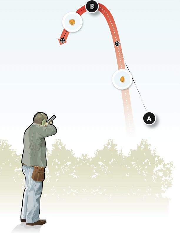 Shooting Clays Tip: Springing Teal