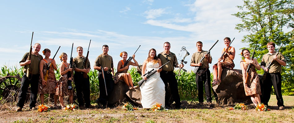 How Serious Hunters Get Hitched