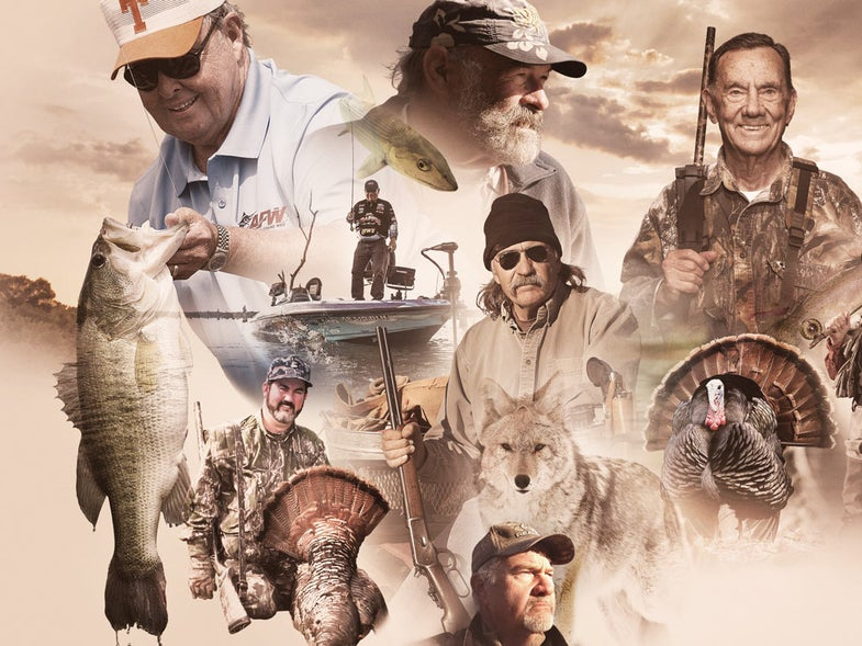 hunting and fishing legends share their tips