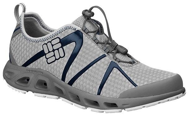 columbia powerdrain water fishing shoes footwear