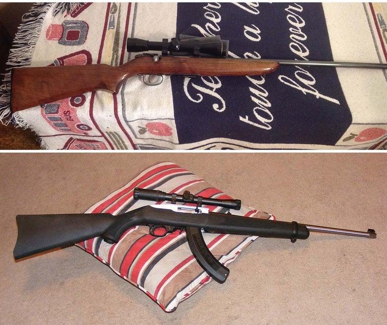 Gunfight Friday: Remington 511-X vs. Ruger 10/22