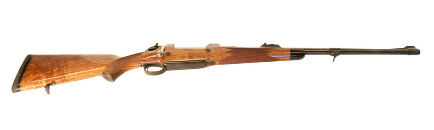 Rigby Mauser 98 action, bolt-action, hunting rifle