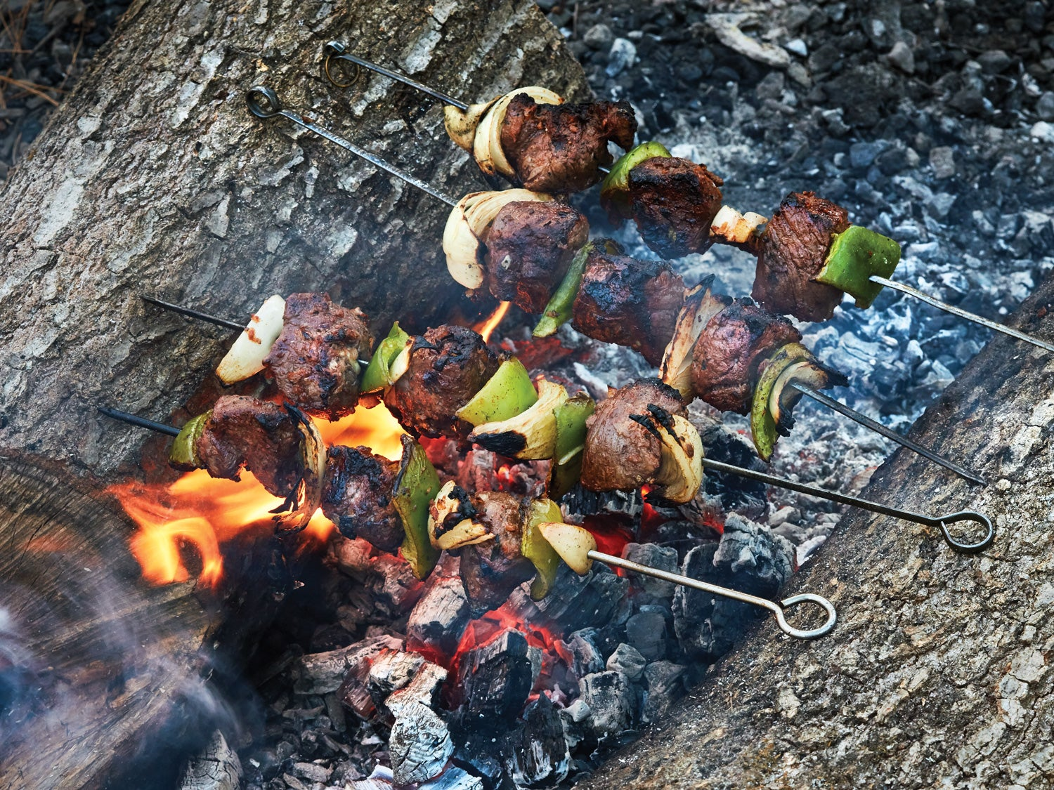 Recipe: Venison Kebabs Over an Open Flame
