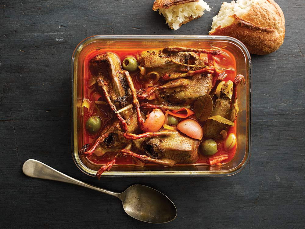 wild dove escabeche recipe
