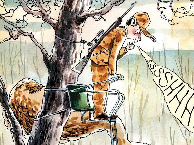 treestand deer hunting