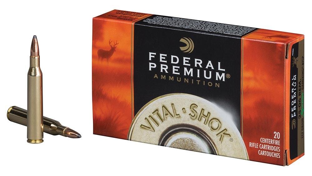 Federal Premium Vital Shock .25/06 Rem